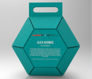 image of the packaging for the customisable 'art' robot object.
