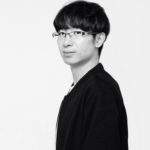 black and white portrait of student Chao Zuo