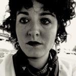 black and white portrait of Stephanie Elyse Sherman